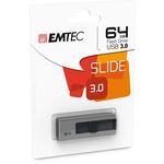 Emtec - Memoria Usb 3.0 - Grigio - ECMMD64GB253 - 64GB