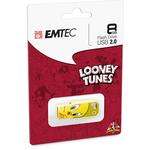 Emtec - Memoria Usb 2.0 - Tweety - ECMMD8GM752L100 - 8GB