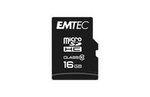 Emtec - Micro SDHC Class 10 Classic - ECMSDM16GHC10CG - 16GB
