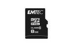 Emtec - Micro SDHC - Classic - 8 GB - classe 10