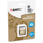 Emtec - SDHC - class 10 gold Plus, 8GB