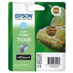Epson - cartuccia - C13T03454010 - ciano chiaro, Stylus photo 2100, blister RS