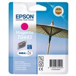 Epson - cartuccia - C13T04434010 - magenta, Stylus c64/66/84/86 photo cx3650/6400/6600, alta capacità, RS