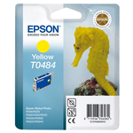 Epson - cartuccia - C13T04844010 - giallo, Stylus photo r200/220/300/320, blister RS