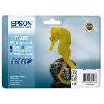 Epson - cartucce - C13T04874010 - 6 colori nero, ciano, magenta, giallo, ciano chiaro, magenta chiaro, RS - multipack