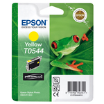 Epson - cartuccia - C13T05444010 - giallo, Stylus photo r800, r1800, blister RS