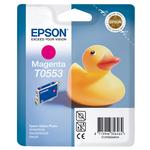 Epson - cartuccia - C13T05534010 - magenta, Stylus photo r240, rx420/425, r245, blister con RF