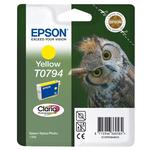 Epson - cartuccia - C13T07944010 - inchiostro claria giallo, nella nuova confezione blister RS