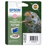 Epson - cartuccia - C13T07964010 - inchiostro claria magenta, chiaro, blister RS