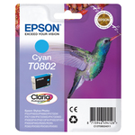 Epson - cartuccia - C13T08024011 - ciano Stylus photo r265, r360, blister RS