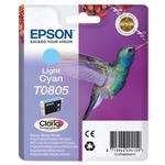 Epson - cartuccia - C13T08054011 - ciano chiaro Stylus photo r265, r360, blister RS