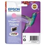 Epson - cartuccia - C13T08064011 - magenta chiaro Stylus photo r265, r360, blister RF