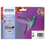 Epson - Cartuccia ink - C/M/Y/K/C CH/M CH - C13T08074011  - 7,4ml cad