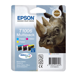 Epson - Multipack Cartuccia ink - C/M/Y - C13T10064010 - 11,1ml cad