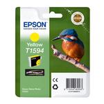 Epson - cartuccia - C13T15944010 - giallo, Ultrachrome hi gloss, serie Martin pescatore, taglia XL