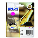 Epson - Cartuccia ink - 16 - Magenta - C13T16234012 - 3,1ml