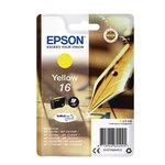 Epson - cartuccia - C13T16244012 - a pigmenti giallo, Durabrite Ultra, serie 16 penna e cruciverba