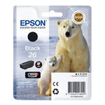 Epson - Cartuccia ink - 26 - Nero - C13T26014012 - 6,2ml