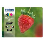 Epson - Confezioni cartucce ink - 29 - C/M/Y/K - C13T29864012 - C/M/Y 3,2ml cad - K 5,3ml