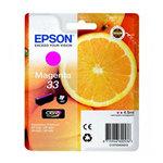 Epson - cartuccia - C13T33434012 - inchiostro magenta, serie 33, arancia
