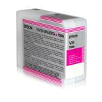 Epson - tanica - inchiostro a pigmenti, Ultrachrome K3 vivid magenta, 80ml