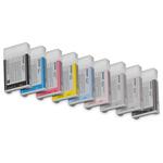Epson - tanica - inchiostro a pigmenti, vivid magenta chiaro, Ultrachrome, K3, 220ml