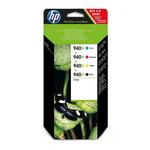 HP - cartucce - C2N93AE - Inkjet, nero, ciano, magenta, giallo Officejet HP 940xl, alta capacità - conf. 4 cartucce