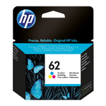 Hp - Cartuccia ink - 62 - C/M/Y - C2P06AE - 165 pag