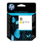 HP - testina di stampa - n. 11, giallo
