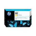 HP - cartuccia - C4873A - n. 80, giallo, 175ml