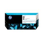 Testina di stampa e dispositivo di pulizia per testina di stampa hp n.81 nero