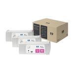 Hp - Confezione 3 cartucce ink - Magenta - C5068A - 680ml/cad