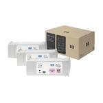 Hp - Confezione 3 cartucce ink - Magenta chiaro - C5071A - 680ml/cad
