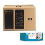 Hp - Confezione 3 cartucce ink - Giallo - C5085A - 400ml/cad