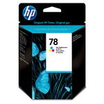 HP - cartuccia - C6578D - n. 78, tricromia, 19ml