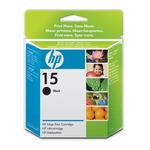 HP - cartuccia - C6615DE - n. 15, nero, 25ml