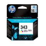 HP - cartuccia - C8766EE - n. 343, tricromia