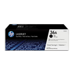 HP - cartucce - CB436AD - Laserjet n. 36 - conf. 2 cartucce