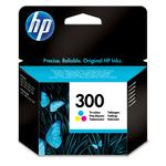 HP - cartuccia - CC643EE - n. 300, tricolor
