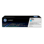 HP - cartuccia - CE311A - Colorsphere, n. 126a, ciano, cp1025