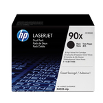HP - cartucce - CE390XD - Laserjet n. 90x - conf. 2 cartucce