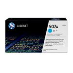 HP - toner - CE401A - ciano, n. 507a, Laserjet Enterprise 500 color m551n