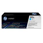 HP - toner - CE411A - ciano, n. 305a, capacità standard
