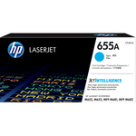 HP - toner - CF451A - ciano, n. 655a, Color Laserjet Enterprise, serie m652, m653, m681, m683