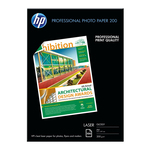 Risma carta professionale photo paper - laser lucida - A4 - 100fg - 200g/m2 - HP