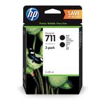 HP - cartuccia - P2V31A - n. 711, nero, 80ml - scatola 2 cartucce