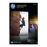 Hp - Carta fotografica lucida Hp Advanced Photo Paper - 25 Fogli/10 x 15 cm senza margini - Q8691A