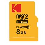 Kodak - Micro SDHC Class 10 Extra - EKMSDM8GHC10CK - 8 GB