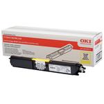 Oki - toner - 44250717 - giallo per c110/c130n capacita\ standard