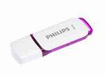 Philips - USB 2.0 - Snow edition - 64 GB - viola